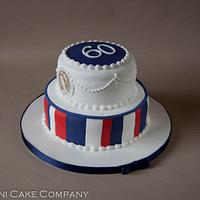 2 Tier Diamond Jubilee Cake