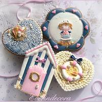 Sailor girl cookies