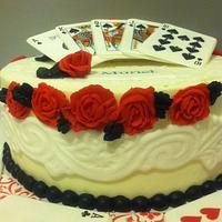 Another bridge player cake