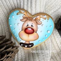 Reno Airbrush Cookie