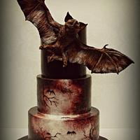 Bat Creature Cake