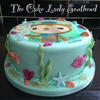 Octanauts cake  by Gwendoline Rose Bakes