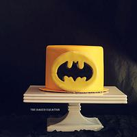 Batman Mini Cake