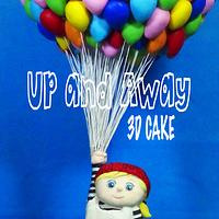 """""""Up and Away"""" - 3D Cake"""