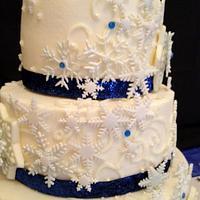 Winter Wonderland Wedding by Dawn Henderson