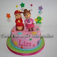 Alvin superstar cake