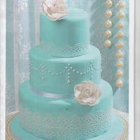 wedding cake by Sofia Costa (Cakes & Cookies by Sofia Costa)