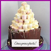 Choccywoccytastic cake