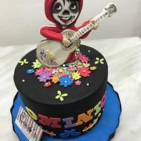 Coco fondant cake