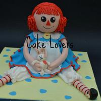 country doll cake
