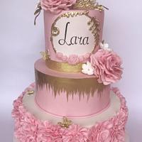 Cake for little princess