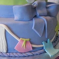 Baby shower cake by sweetcentric