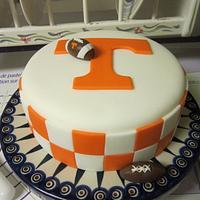 Tennessee Football Cake by Margarida Myers
