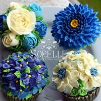 Sorelle Floral Cakes