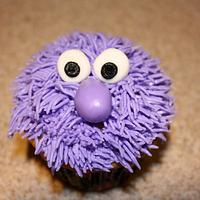 Fuzzy Monster Cupcakes by Michelle