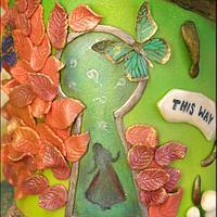 Alice through the Keyhole by Jen McK Evans