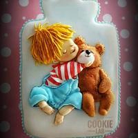 My first Teddy Bear!