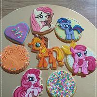 My little pony-cookies and cake