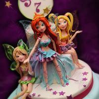 Winx fairies for my little star <3 by Antonella Di Maria