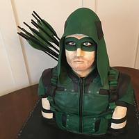 """Arrow"" Birthday Cake"