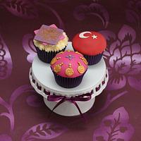 Turkish cupcakes