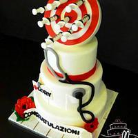 Anesthetist Cake