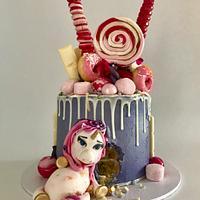 Fat Unicorn.. by The Noisy Cake Shop
