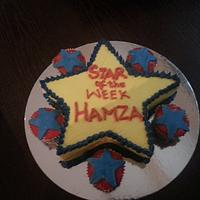Star Of the week Cake