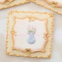 Antique Picture Frame Cookies