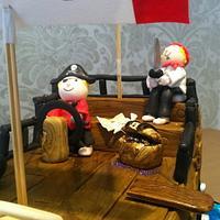 Pirate Ship Cake by Nina Stokes