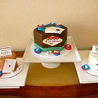 Casino Night Cake by Melissa
