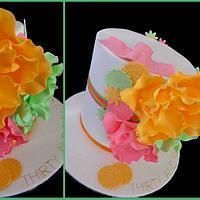 Magnolia thirty and fabulous cake!