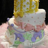 Paitynns' Topsy Turvy cake