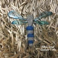 international women's day collaboration - dragonfly jewelry broach
