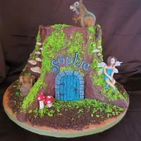 Woodland Fairy Cake