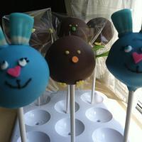Easter Cake Pops by Michelle Allen