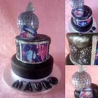 Birthday Dj Energy Cake