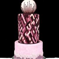 Cake International 2014 Best in Category (Wedding Cakes)