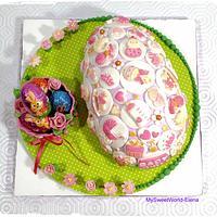 Easter BabyGirl Egg