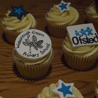 Ofsted Themed Cupcakes  by Kaylee