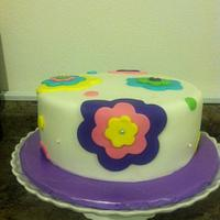 Quick girly cake