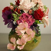 Bouquet flowers by Katarzynka