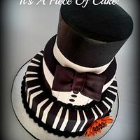 Black and White Buttercream/Fondant