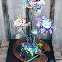 Alice im Wonderland#Cake International#Fantasy Flowers