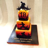 Martial Art Cake :)