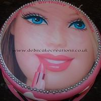 Barbie Girl. by debscakecreations