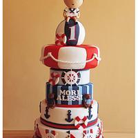 Mori Alessi's Nautical - Themed Cake