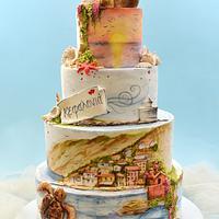 Kefalonia Wedding Cake