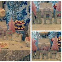 Winter Wonderland Party Table