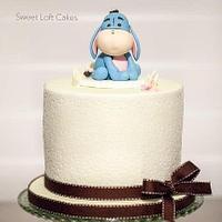 Baby Eeyore Birthday Cake